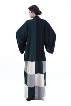 DAS Collection, SS14 Caftan Dress, Kaftan, Abaya Fashion, Modest Fashion, Business Design, Business Women, Modern Abaya, Arabic Dress, Modest Apparel
