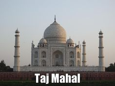 http://www.davidstours.com.au What can one add to the Taj Mahal - a must see place for everyone.