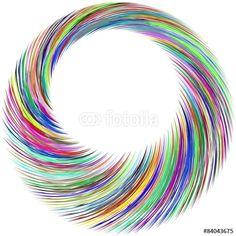 Vektor: Farbwirbel 02