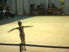 Kristina Pimenova 2005 gymnastic routine