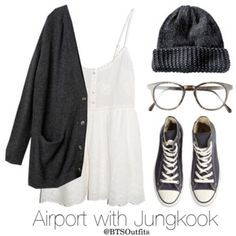 Airport with Jungkook