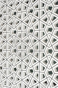 modern interpretation of an ancient Islamic pattern.