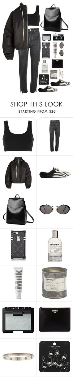"""zebra"" by millicent4 ❤ liked on Polyvore featuring adidas Originals, Vetements, Rick Owens, Gucci, Jean-Paul Gaultier, Le Labo, MILK MAKEUP, NARS Cosmetics, Givenchy and Topshop"