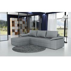 Rohová sedacia súprava, univerzálna, sivá, DALAS Dallas, Sofa Couch, Ebay, Furniture, Home Decor, Products, Brown Sofa, Colors, Ideas