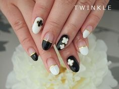 ☆春夏のイメージ♪曲線ラインネイル☆の画像 | 名古屋昭和区 private nail salon TWINKLE