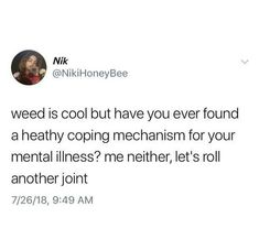 Funny Weed Memes, Weed Jokes, Stupid Memes, Stupid Funny, Funny Stuff, Real Quotes, Fact Quotes, Mood Quotes, True Quotes