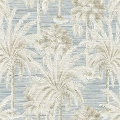 Shop for Dream Of Palm Trees Blue Texture PS40002, by Brewster Home Fashions. $89.99 at Wallpaper Boulevard. Free shipping on all orders in continental USA