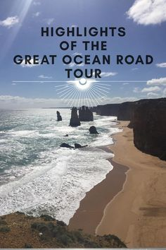 Must see highlights of the Great Ocean Road!  If you're pressed for time, here's what you shouldn't miss!