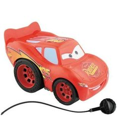 Lightning McQueen - Rip Stick Racer: Disney Cars by Mattel. $29.95. Cars Rip Stick Racers Lightning McQueen. Cars sport an easy-grip ripcord for instant acceleration and speed racing. Action sized hero vehicles inspired by Disney/Pixar CARS. From the Manufacturer                This action-sized Lightning McQueen hero vehicle, inspired by the Disney/Pixar film, CARS, sports an easy-grip ripcord for instant acceleration and speed racing!                                    Product ...