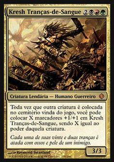 Kresh Tranças-de-Sangue / Kresh the Bloodbraided   Busca de Cards   LigaMagic