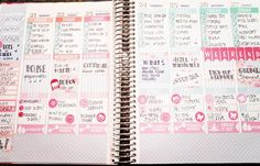 Full week spread! Can't wait to hop back into the horizontal planner next week.  by officialsponsoredbycoffee