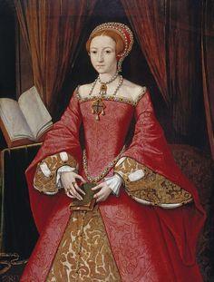 Elizabeth I when a Princess - Elisabetta I d'Inghilterra - Wikipedia