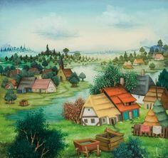 Mijo Kovačić — Village
