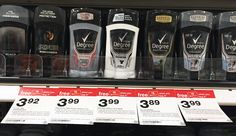 Degree MotionSense Deodorant, Only $0.36 at Target!