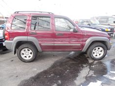 Here's a 2002 Jeep Liberty Sport that I have.  It has 99,000 miles.  Let me know what you think.