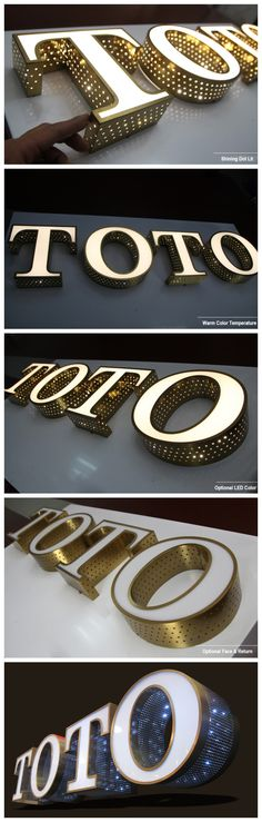 illuminated Channel Letter Sign                                                                                                                                                                                 More