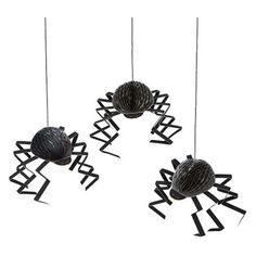 Halloween Spider Decorations (220860 BYR) ❤ liked on Polyvore featuring home, home decor, holiday decorations, meri meri and halloween home decor