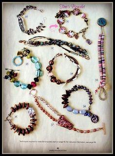 PinkPearl Bracelet, Fall 2014 Stringing, p. 41, #11 (by Toni McCarthy)