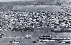 Fotos de Tampico, Tamaulipas, México: Panoramica de la ciudad durante la Inundacion despues del Ciclon Hilda en 1955