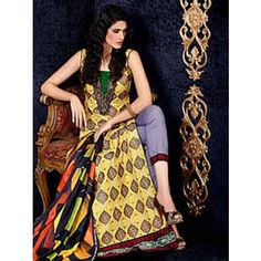 Asim jofa lawn collection 2014 lawn print suit ajl013a