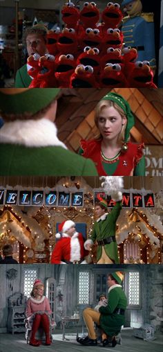Elf - Will Ferrell & Zooey Deschanel are a winning combination! Xmas Movies, Best Christmas Movies, Christmas Shows, Holiday Movie, Christmas Music, Christmas Elf, Great Movies, Cotton Headed Ninny Muggins, Elf Movie
