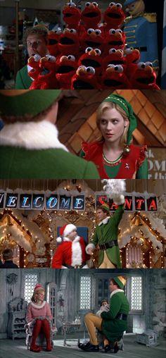 Elf. #christmas #movie #willferrell #zooeydeschanel