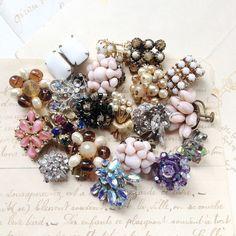 Twenty 20 Vintage Single Rhinestone Crystal by MyVintageSupplies