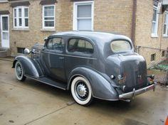 1936 Chevrolet Master Deluxe Town Sedan