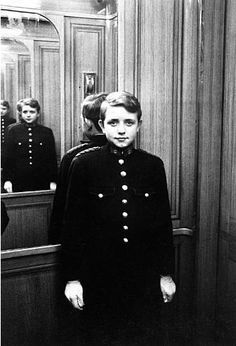 +~+~ Vintage Photograph ~+~+  Elevator Boy, Ritz, Paris 1963