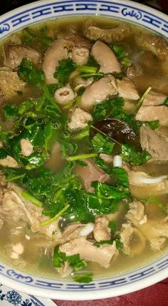 Khao piak or kapiek is a chewy noodle almost similar to the lao style menuedo soup my dad would make this whenever hed bring home forumfinder Image collections