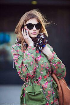 Beleza, desfiles, moda
