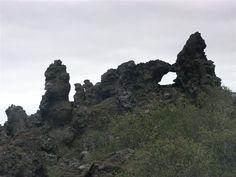 Dimmuborgir, Myvatn, Iceland. Satan AND Santa live there!
