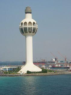 Jeddah Lighthouse, Jeddah, Saudi Arabia