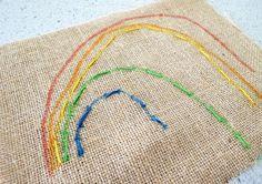 Simple Kids Sewing: Sewing Rainbows   Childhood101