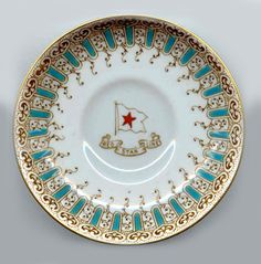 """""""White Star Line"""" china same as was used by 1st class passengers on RMS Titanic 1912"""