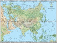 8 Jual Peta Negara Indonesia Benua Asia Images Pinterest Info