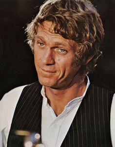 "Steve McQueen en ""Los Rateros"" (The Reivers), 1969"