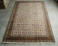 7'3''x11'1'' Large Size Rug Vintage Hereke Rug by RugToGo on Etsy