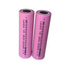 18650 battery 2PCS/lot 100% original 18650 batteries rechargeable Battery 3.7v Li-ion For LED Flashlights battery Wholesale