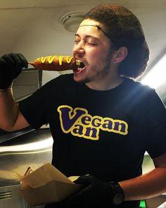"75 Likes, 5 Comments - Vegan Van (@denverveganvan) on Instagram: ""Justin's favorite break-time meal is the ""Corny Island!"" Come get yours tonight at @bruzbeers…"""