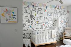 Sebastian's Nursery Mural