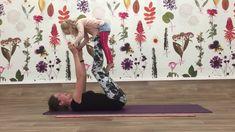 Ouder & Kind Yoga - Het lage en hoge vliegtuig, vliegen jullie mee?