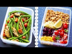 6 Healthy Meal Prep Lunch Ideas For Weight Loss Lunch Meal Prep, Healthy Meal Prep, Healthy Weight, Healthy Eating, Clean Eating, High Protein Recipes, Easy Healthy Recipes, Healthy Recepies, Healthy Options