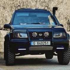 Suzuki Vitara Jlx, Sidekick Suzuki, Mitsubishi Shogun, Suzuki Cars, Grand Vitara, Car Mods, Off Road, Hot Rides, Rav4