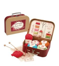 Sewing and knitting suit case by Moulin Roty    $60.63  €47