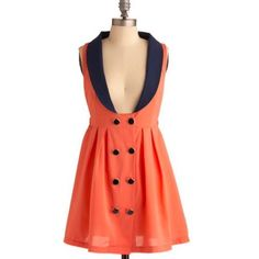 Nwot Modcloth Double Your Fun Dress