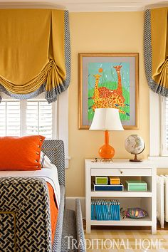 Colorful Family Home in Washington, D.C. | Traditional Home