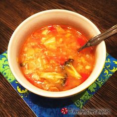 Χορταστική χορτόσουπα με τραχανά #sintagespareas Cooking Recipes, Ethnic Recipes, Food, Chef Recipes, Essen, Meals, Yemek, Eten