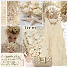 Cream by saralemon on Polyvore featuring ファッション