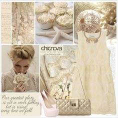 Cream by saralemon on Polyvore featuring ファッション